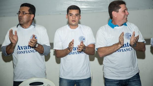 Hyago França faz parte da chapa de Luiz Roberto (Foto: Filipe Araújo/ADC)