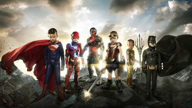 super-heróis crianças reais (Foto: Josh Rossi)