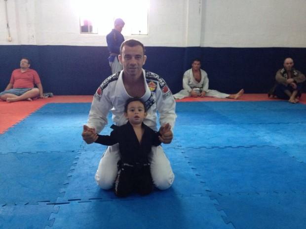 Lutador de jiu-jitsu Leandro Beinroth de Divinópolis (Foto: Arquivo Pessoal /Leandro Beinroth)
