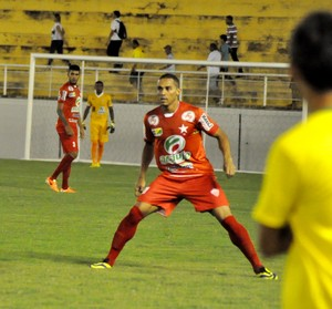 Willian Saróa atacante do Rio Branco-AC (Foto: Manoel Façanha/Arquivo pessoal)