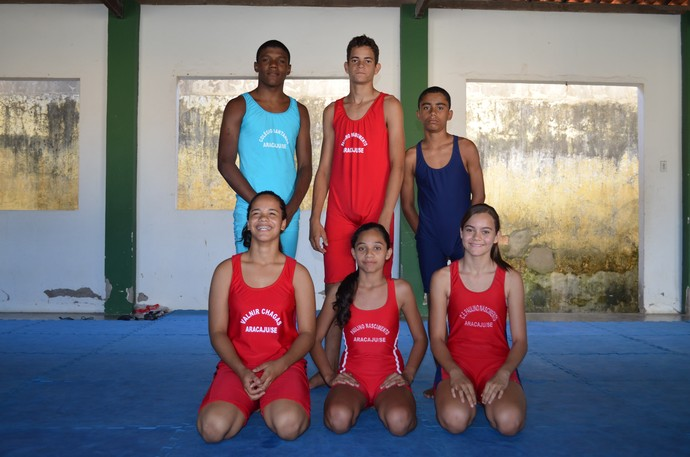 Luta Olímpica Sergipe (Foto: Osmar Rios)