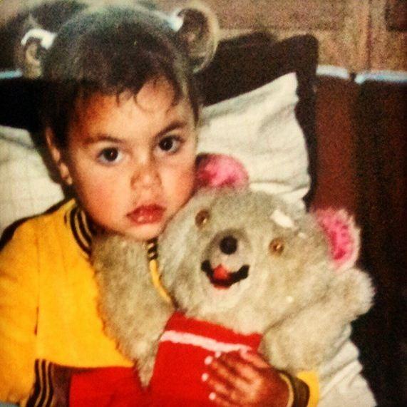 E as bochechas da Fernanda Liz criança? (Foto: Reprodução/Instagram)