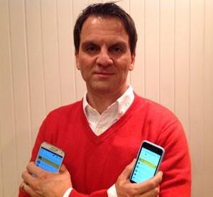 Pompilio Roselli, gerente no Brasil da Myriad, que desenvolve o aplicativo 'Msngr'. (Foto: Divulgação/Msngr)