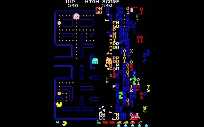 Kill Screen em Pac-man (Foto: Reprodução/Pixelkin)