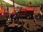 Carro capota e deixa ao menos um ferido na Zona Sul do Recife
