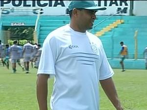 Técnico Neto Costa  (Foto: Reprodução/TV Anhanguera)