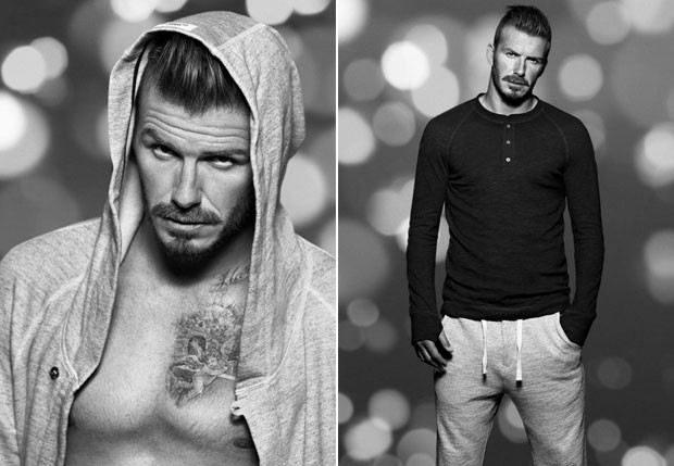 David Beckham é a estrela da campanha da H&M (Foto: Reprodução/Facebook)