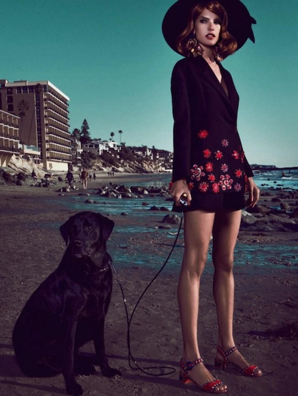 Alessandra Ambrosio posa em Los Angeles (Foto: Arquivo Vogue )