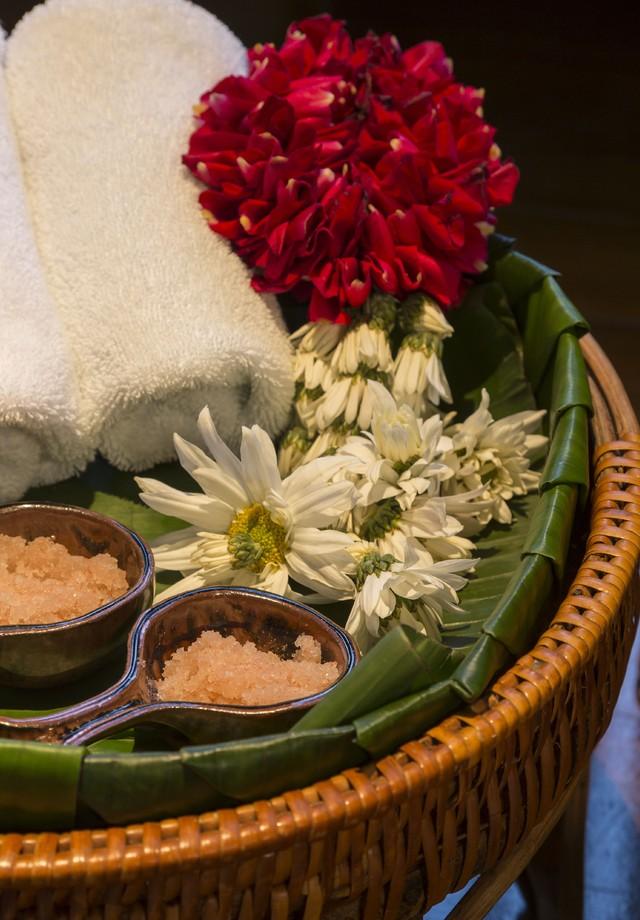 Esfoliação corporal de açúcar com açaí é uma das delícias do tratamento (Foto: Evelyn Muller)