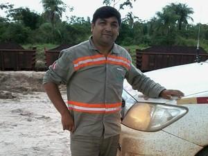 Abraão Gomes dos Santos 38 anos, maca, morte, HE, Amapá (Foto: Tâmela Santos/Arquivo Pessoal)