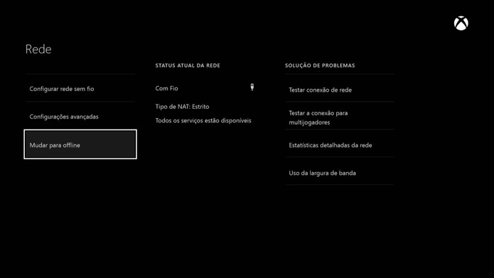 Mude para offline (Foto: Reprodução/Murilo Molina)