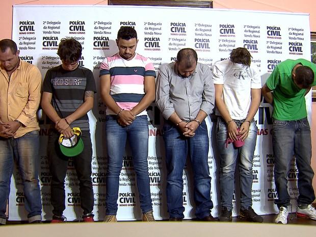 Operação da Polícia Civil prende sete suspeitos de tráfico de drogas  (Foto: Reprodução/TV Globo)