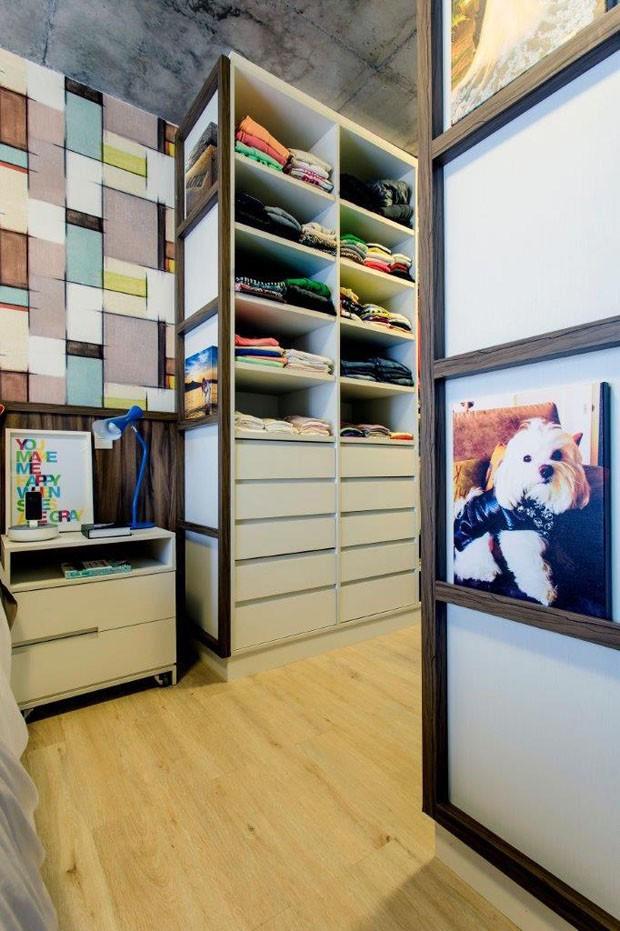 Organização de closets (Foto: Gustavo Awad / divulgação)