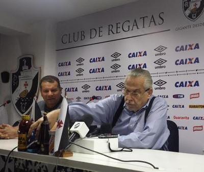 Celso Roth Eurico Miranda Vasco (Foto: Raphael Zarko/GloboEsporte.com)