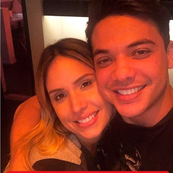 Thyane Dantas e Wesley Safadão (Foto: Reprodução Instagram)