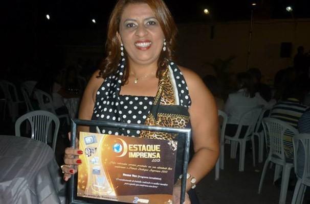 A Coordenadora de Jornalismo da Rádio Grande Rio FM, Neya Gonçalves.  (Foto: Arquivo pessoal)