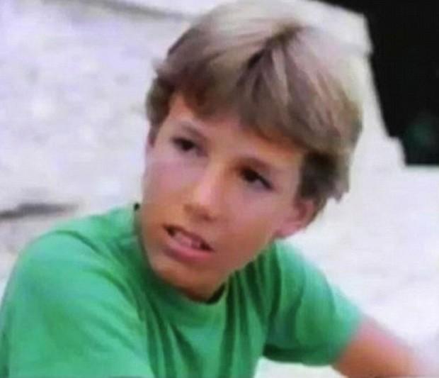 Ben Affleck aos 12 anos (Foto: Reprodução/PBS)