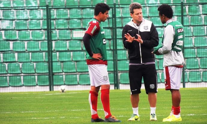 Argel Paulo Roberto e Nem (Foto: Renan Koerich)