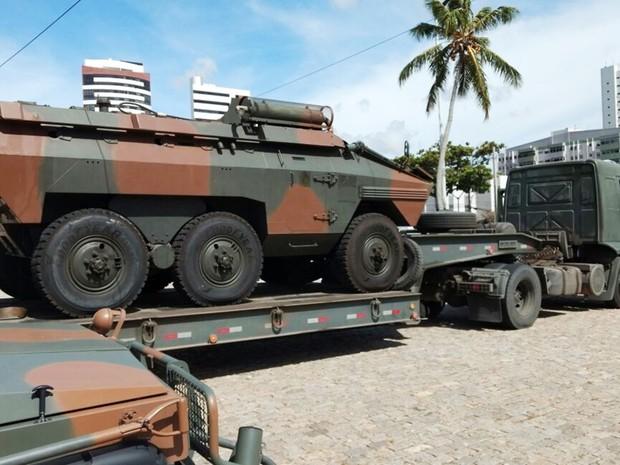 Resultado de imagem para militares do exército chegam a natal
