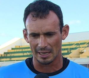 Clézio, goleiro do Estanciano, entrevista (Foto: Reprodução / TV Sergipe)