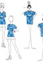Allah-la-ô! Grife carioca mostra blusa de camarote vip na Sapucaí do Rio