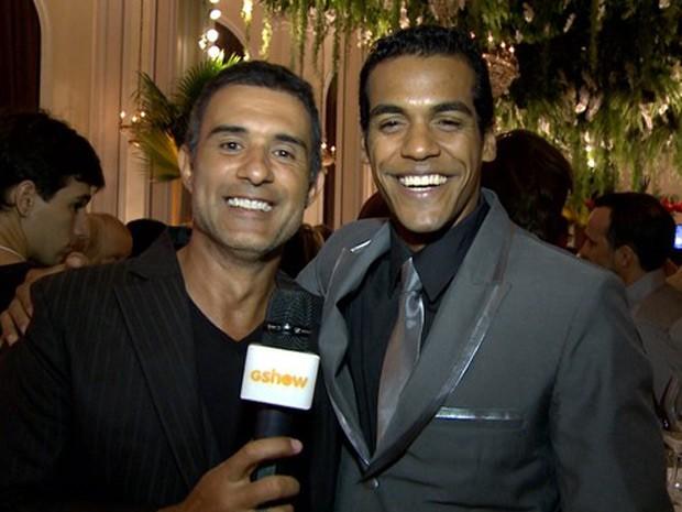 Marcos Pasquim e Marcello Melo Jr. formarão um casal gay em Babilônia (Foto: TV Globo)