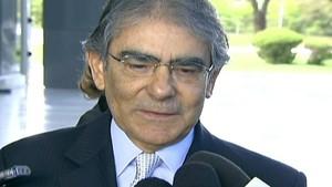 Ministro do STF,  Ayres Britto (Foto: reprodução Globo News)