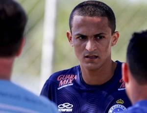 Zagueiro Mateus, do Cruzeiro (Foto: Washington Alves / Globoesporte.com)