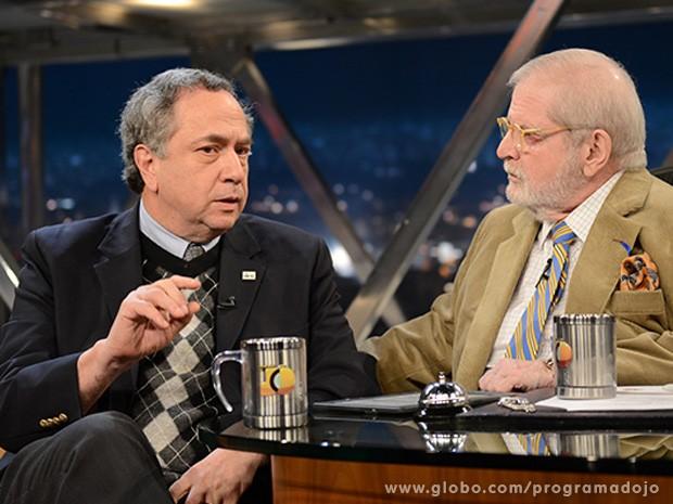 Morton Scheinberg participa do Programa do Jô desta sexta-feira (Foto: TV Globo/Programa do Jô)