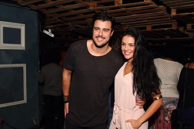 Joaquim Lopes e Paloma Bernardi (Foto: Anderson Borde / AgNews)