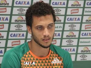 Neto se recupera de queda de avião (Foto: Cleberson Silva/Chapecoense/Globoesporte.com)