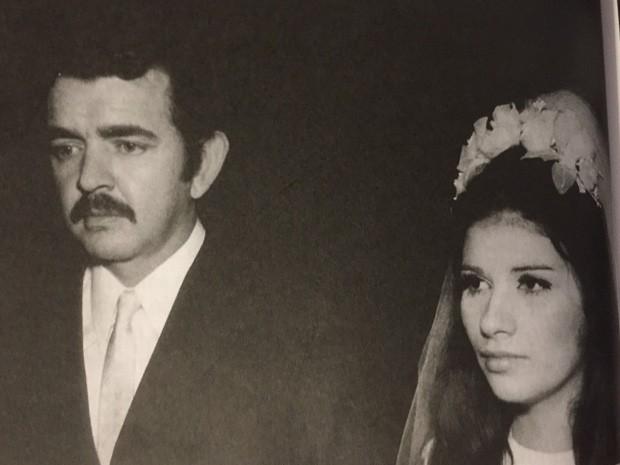 Cecília era casada com o ator Umberto Magnani, que morreu em abril deste ano (Foto: Arquivo pessoal)