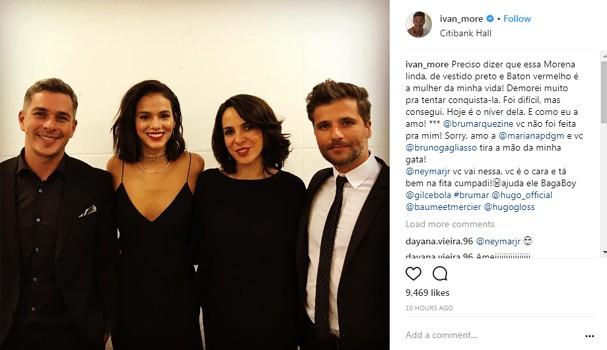 Post de Ivan Moré (Foto: Instagram/Reprodução)