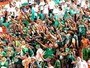 Arquibancadas esgotadas para jogo do Palmeiras contra o Coruripe