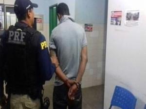 Este é o 20º detento recapturado  (Foto: Ascom/Sejuc)