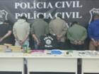 Polícia prende suspeitos de tráfico de drogas sintéticas em SC
