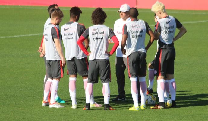 Internacional Inter treino (Foto: Eduardo Deconto/GloboEsporte.com)
