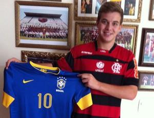 Thomás, meia-atacante do Flamengo  (Foto: Divulgação)