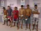 Seis suspeitos de assalto a residências são presos no ES