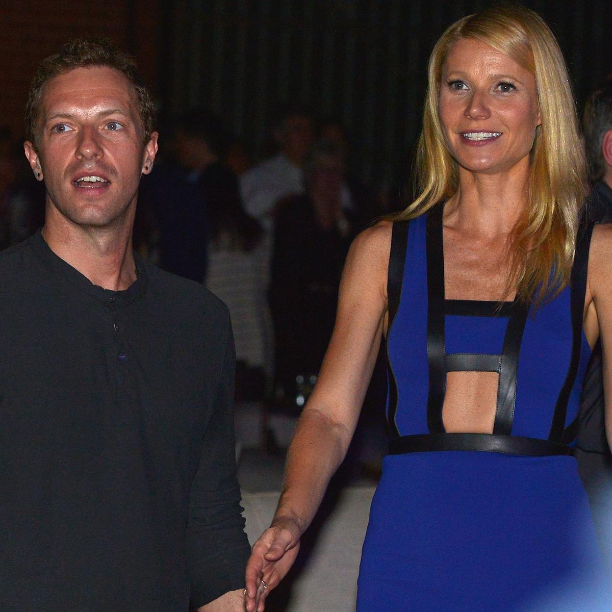 Gwyneth Paltrow e Chris Martin escolheram um nome bíblico para Moses (Moisés) e um nome pra lá de exótico para Apple (Maçã) (Foto: Getty Images)