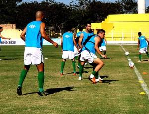 Luverdense treinos Série C 2013 (Foto: Assessoria/Luverdense Esporte Clube)