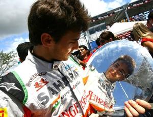 Jules Bianchi, campeão do desafio de Kart das Estrelas (Foto: Carsten Horst / Divulgação)