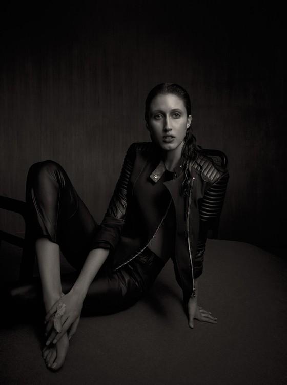 Anna Cleveland é filha da legendária modelo Pat Cleveland, musa de Salvador Dali e Halston  (Foto: Divulgação)