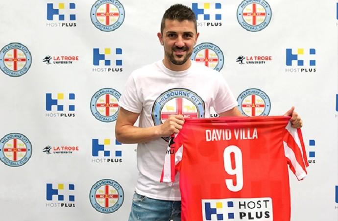 David Villa no Melbourne City (Foto: Divulgação / Melbourne City)