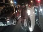 Motorista supostamente embriagado provoca acidente na Serraria