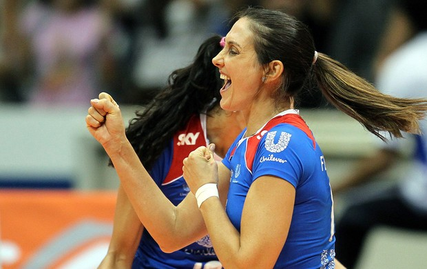 Fernanda Venturini Rio de Janeiro vôlei (Foto: Alexandre Cassiano / Agência O Globo)