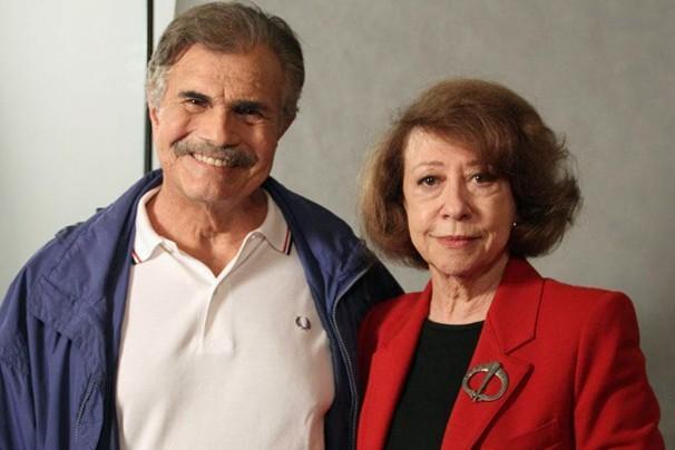 Tarcísio Meira e Fernanda Montenegro são uma presença de respeito na trama da novela das 11 (Foto: Nathalia Fernandes/Globo)