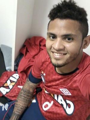 Roberto Atlético-PR (Foto: Arquivo Pessoal)