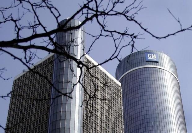 Sede da montadora General Motors (GM) nos EUA (Foto: Arquivo/Reuters)
