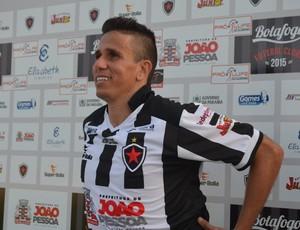 Potita, Botafogo-PB, atacante (Foto: Pedro Alves / GloboEsporte.com/pb)